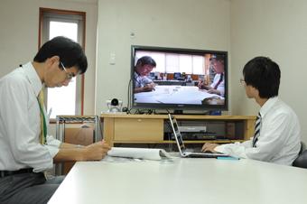 テレビ会議システム校正事例