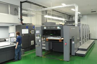 UV枚葉印刷機