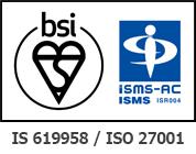 ISMS BSI 認証シンボル